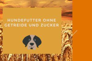 Hundefutter ohne Getreide und Zucker