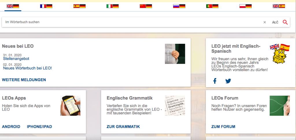 leo.org übersetzer