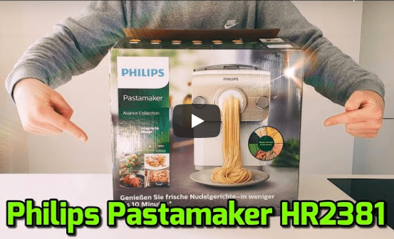 philips pastamaker