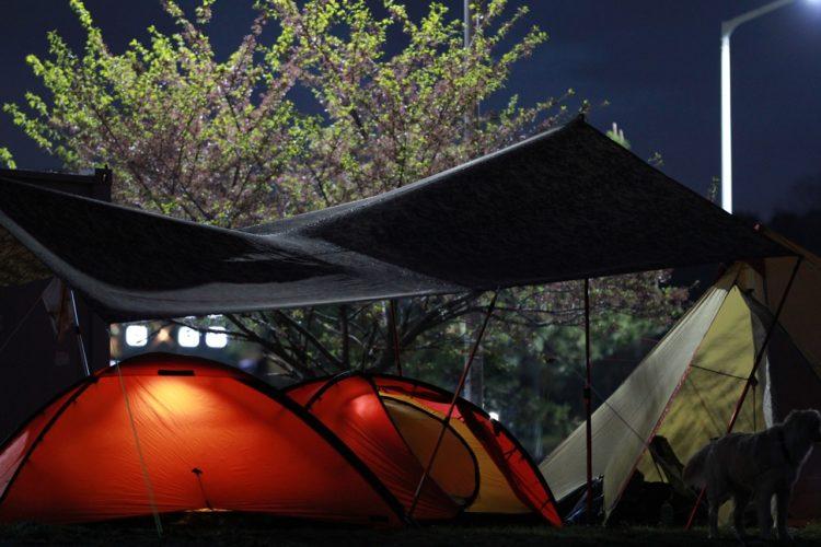 camping pavillon