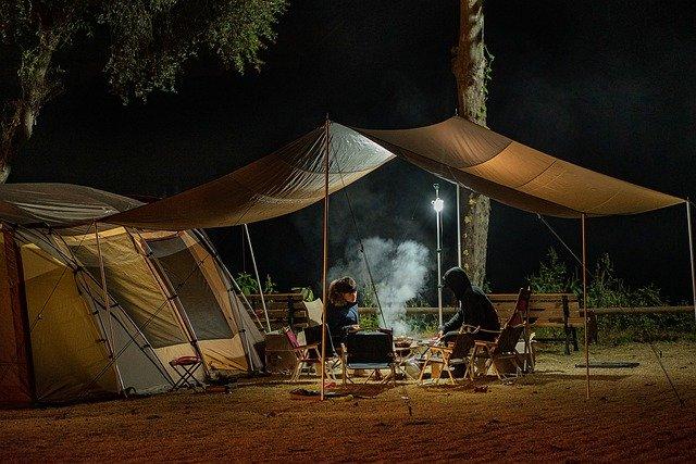 faltbarer campingstuhl