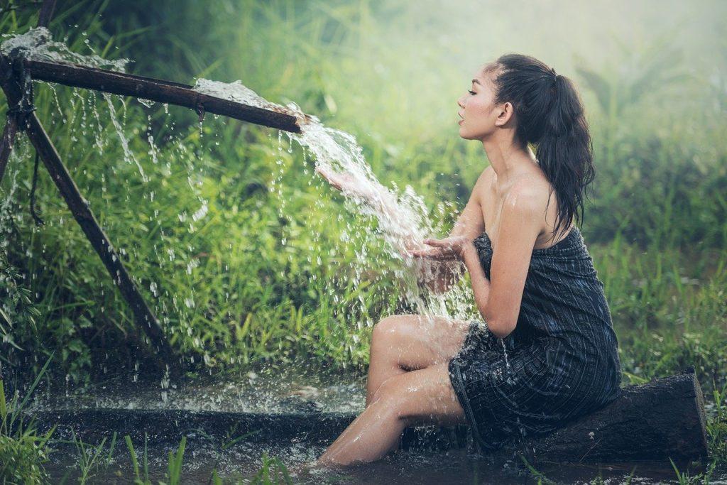 dusche draussen