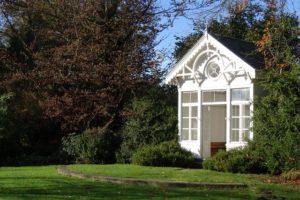 Gartenhaus aus Kunststoff